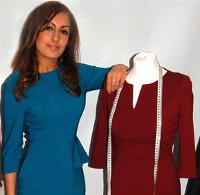 of Jeetly , a premium brand of petite clothing for professional women