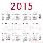2015 Calendar Card
