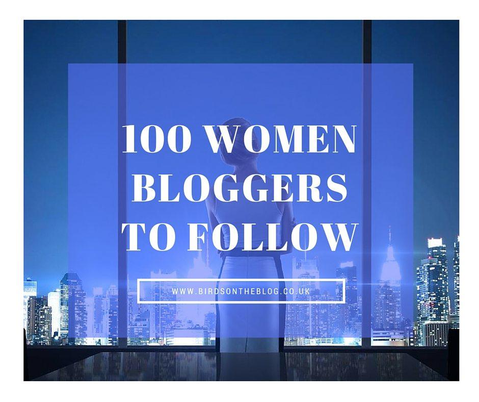 100 Women Bloggers to Follow