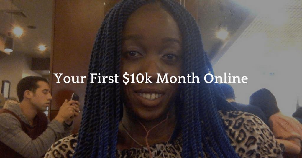 10k month online