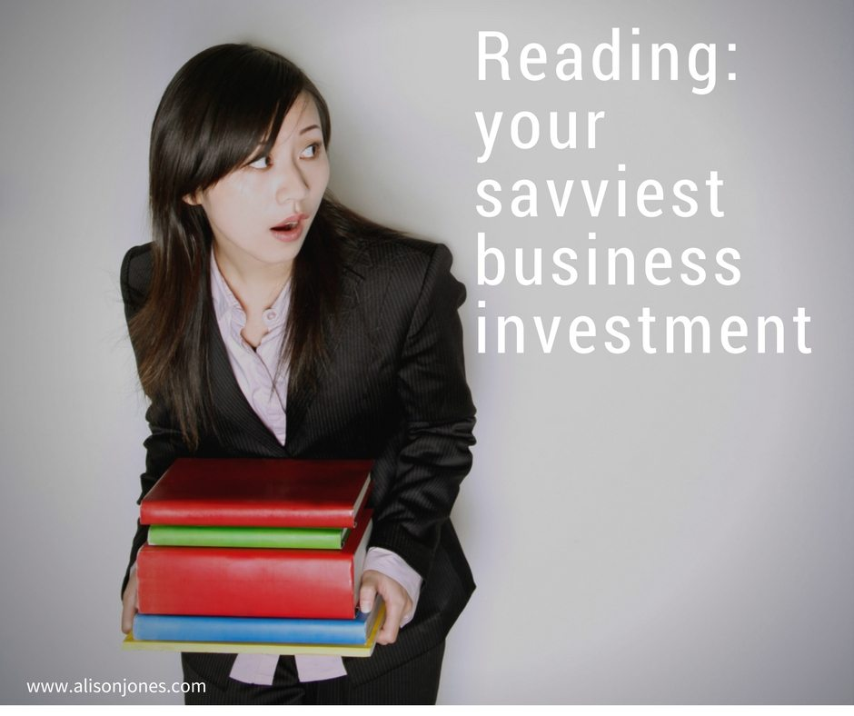 Reading - your savviest business investment