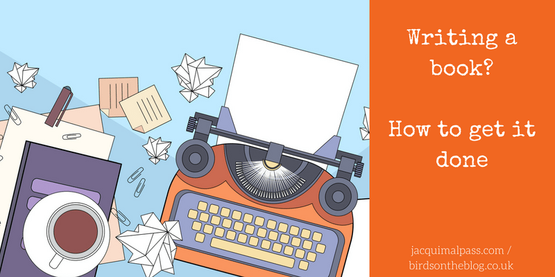 Writing a book? How to get it done