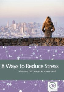 8 ways beat stress women ebook cover