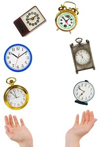 clocks juggling